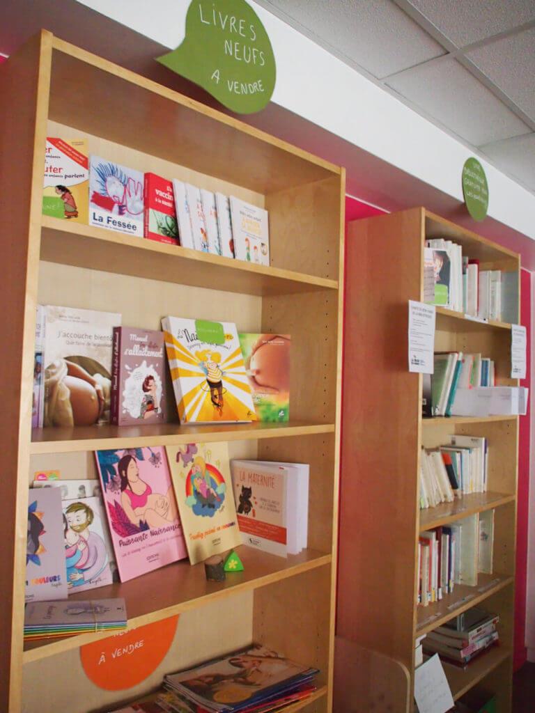 Bibliothèque - Maison de la Parentalité et de la Naissance